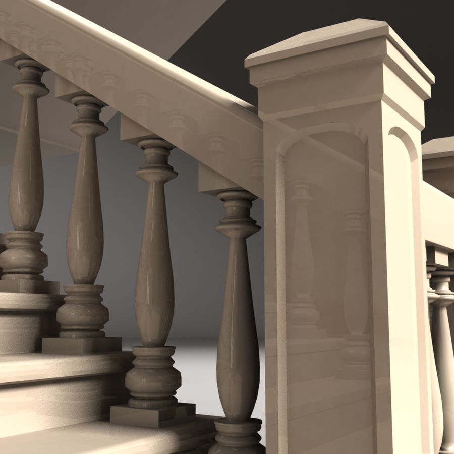 Scala royalty-free 3d model - Preview no. 3