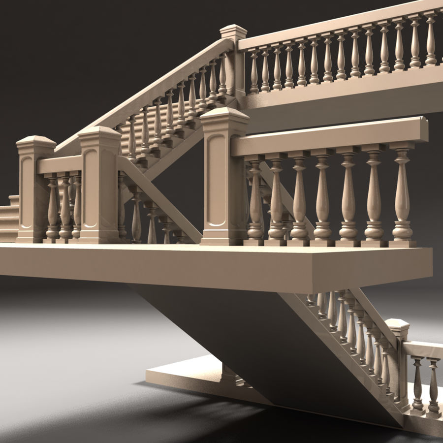 Scala royalty-free 3d model - Preview no. 7