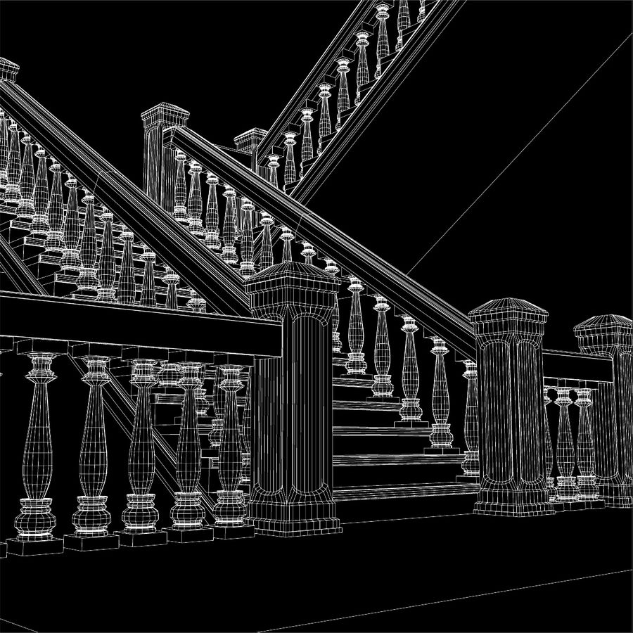 Scala royalty-free 3d model - Preview no. 14