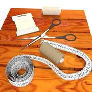 Tailoring items 3d model