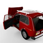 Russian style 4x4 car 3d model