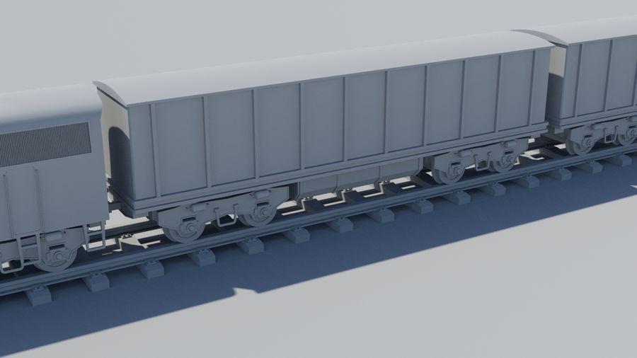 Tren de carga royalty-free modelo 3d - Preview no. 5