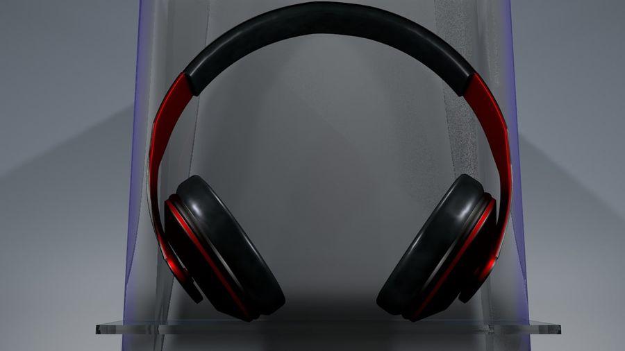 헤드폰 royalty-free 3d model - Preview no. 3