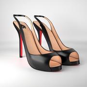 Высокие каблуки 3d model