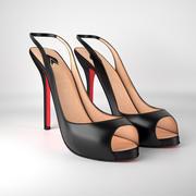 High heels 3d model