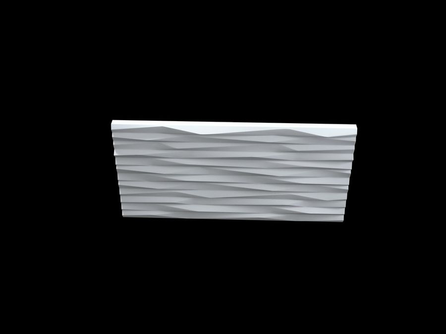3D-Wall-Blade royalty-free 3d model - Preview no. 7