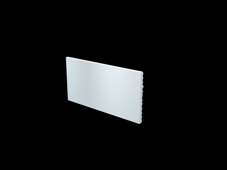 3D-Wall-Blade royalty-free 3d model - Preview no. 9