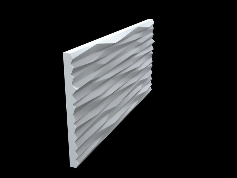 3D-Wall-Blade royalty-free 3d model - Preview no. 5
