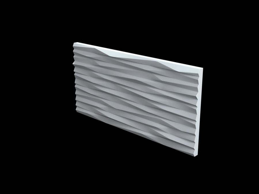 3D-Wall-Blade royalty-free 3d model - Preview no. 6