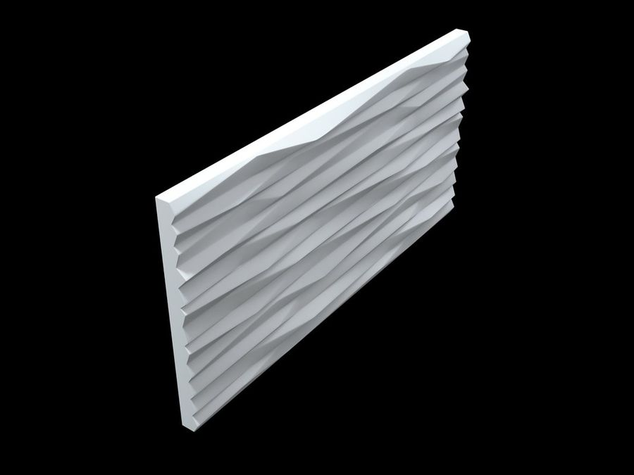 3D-Wall-Blade royalty-free 3d model - Preview no. 10