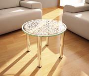 Стеклянный стол 3d model