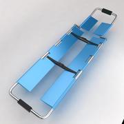 Utrustning för sjukhusbårbädd 5 3d model