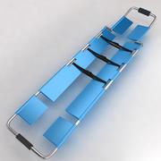 Utrustning för sjukhusbårbädd 6 3d model