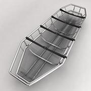 Utrustning för sjukhusbårbädd 9 3d model