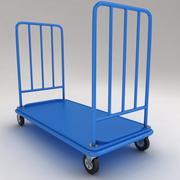 医療および荷物用機器のトロリー6 3d model