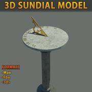 Sun Dial Modelo 3D 3d model
