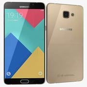 Samsung Galaxy A9 (2016) Champagne Gold 3d model