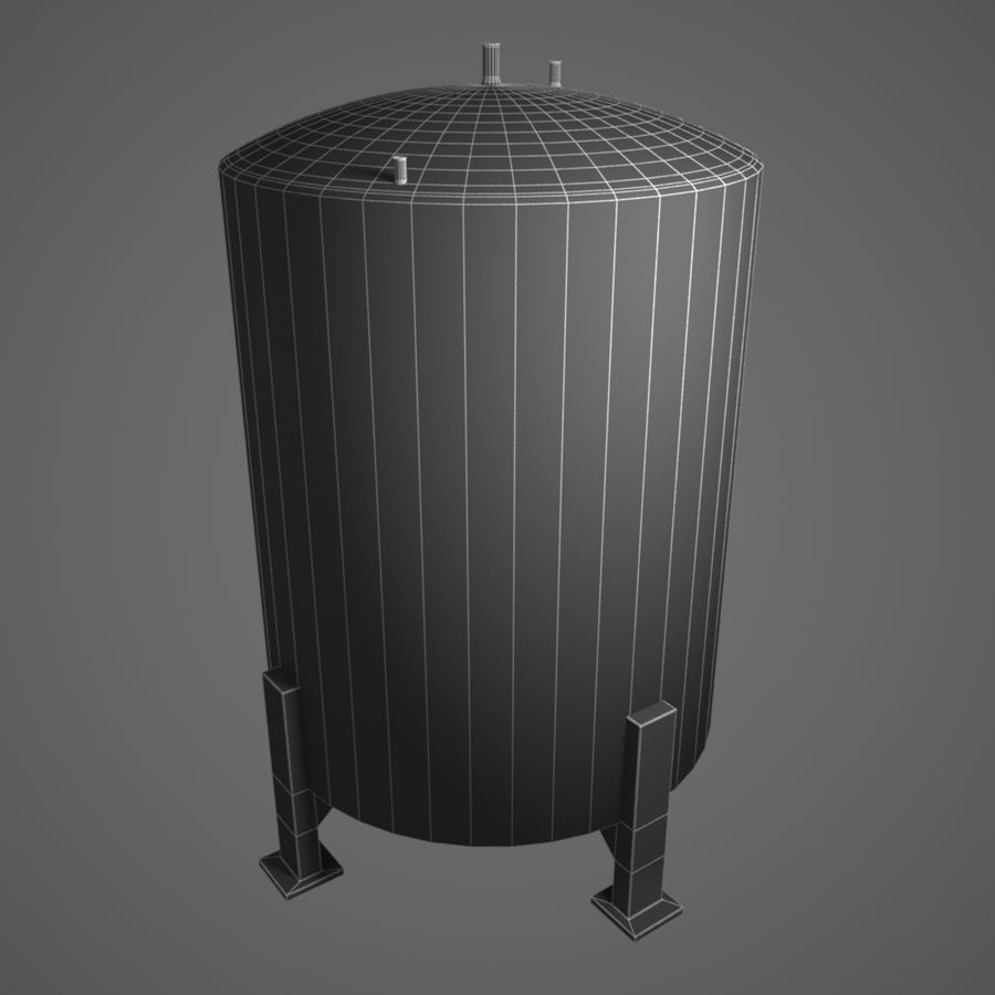 Depot (Big) royalty-free 3d model - Preview no. 4