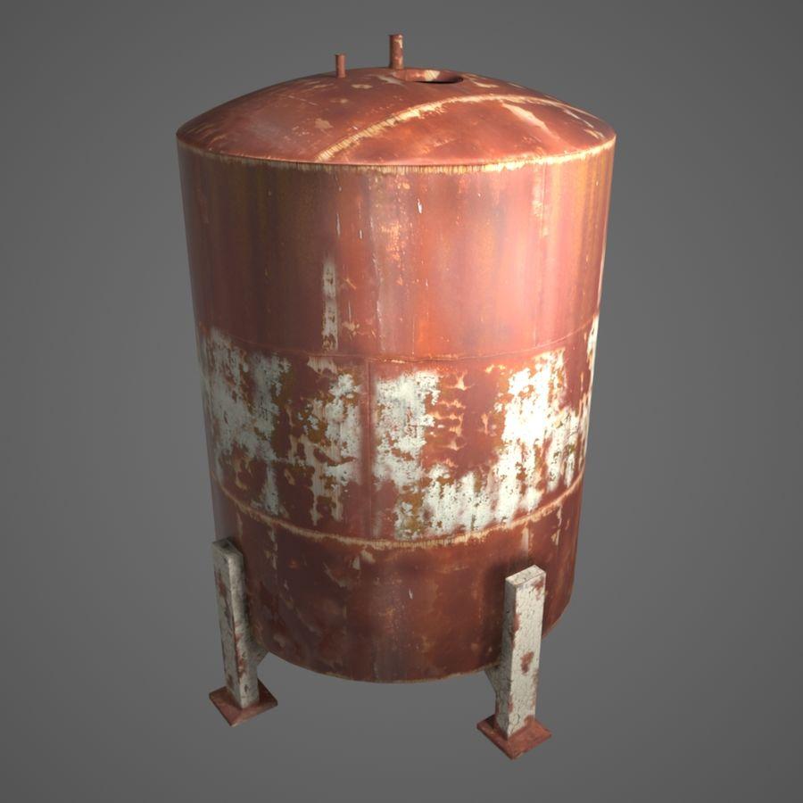Depot (Big) royalty-free 3d model - Preview no. 3