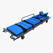 ambulance stretcher 1 3d model