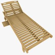 Cadeira de jardim 3d model