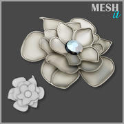 Flower Decoration 3d model
