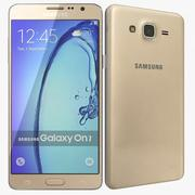 Samsung Galaxy On7 Gold modelo 3d
