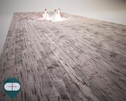 旧木地板 3d model