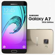 Samsung Galaxy A7 2016 Guld 3d model