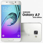 Samsung Galaxy A7 2016 Vit 3d model
