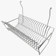 Hanging Dish Rack 3d model