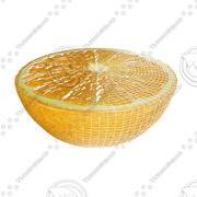 Halv orange 3d model