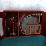 коробка огнетушителя 3d model