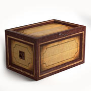 table old box 3d model