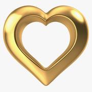 Heart Gold v2 modelo 3d