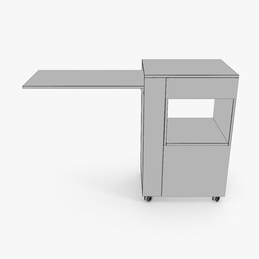 Шкаф-купе royalty-free 3d model - Preview no. 13