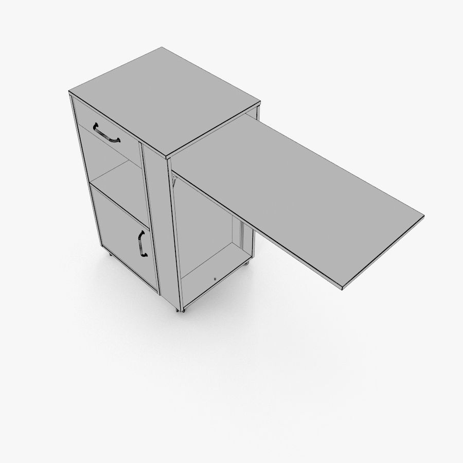 Шкаф-купе royalty-free 3d model - Preview no. 17