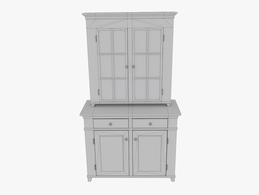 cupboard royalty-free 3d model - Preview no. 6