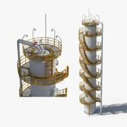 Industriell olja (1) 3d model