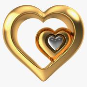 Heart Gold v5 modelo 3d
