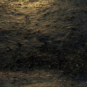 小石の泥だらけの地面 3d model