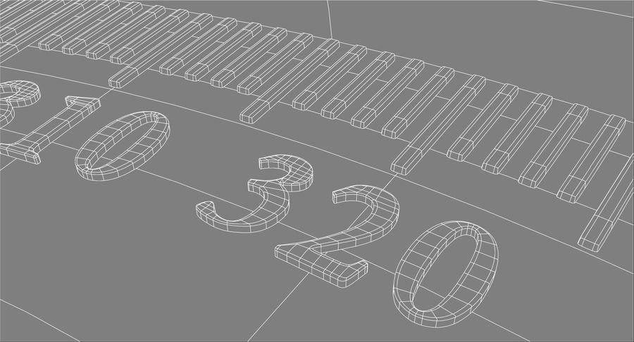 나침반 royalty-free 3d model - Preview no. 12