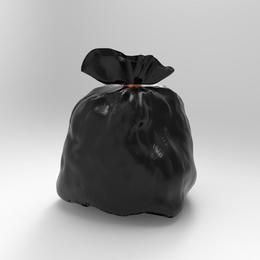 Çöp torbası royalty-free 3d model - Preview no. 5
