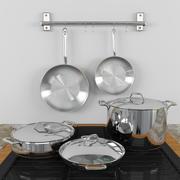 調理器具-ラゴスティーナアカデミア 3d model