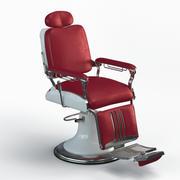 """理发椅""""遗产"""" 3d model"""