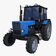 拖拉机MTZ 82 3d model