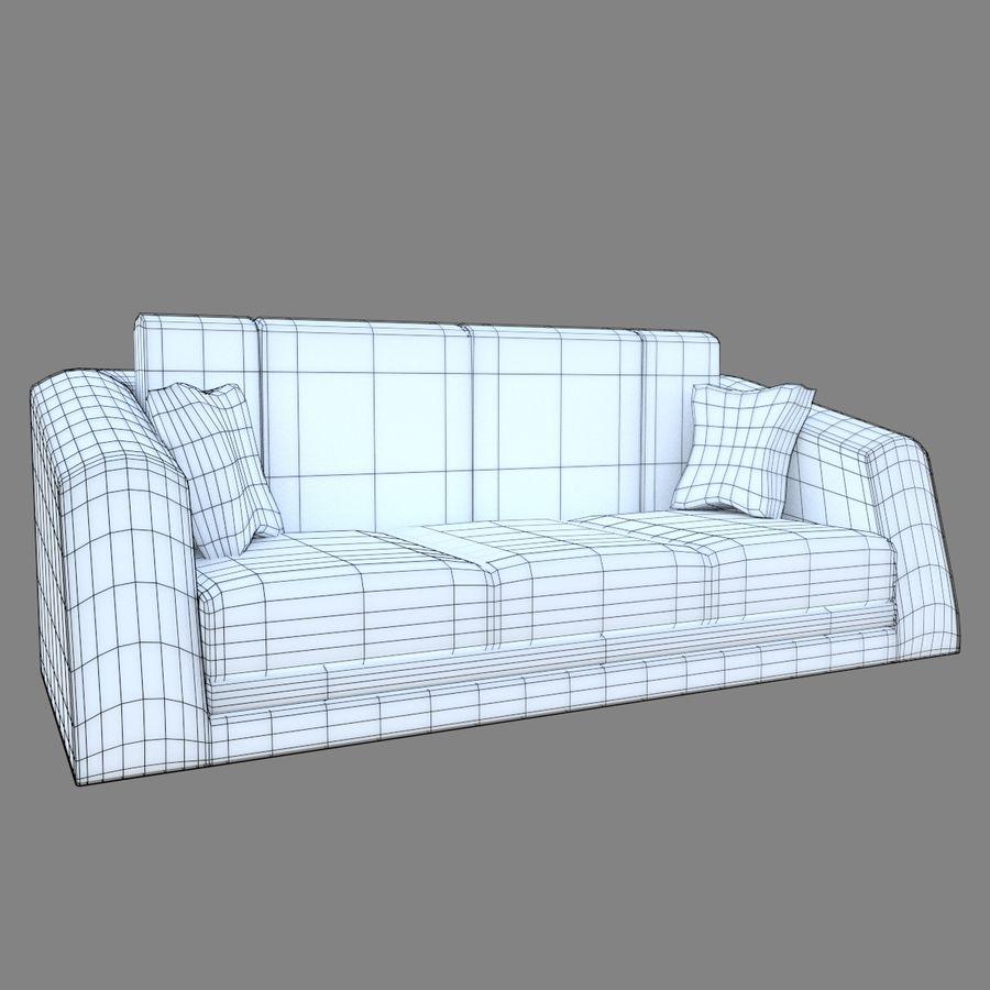 Juego de muebles royalty-free modelo 3d - Preview no. 7