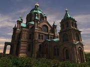 Uspenskin Cathedral 3d model