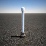PVC Ground Vent Pipe 3d model