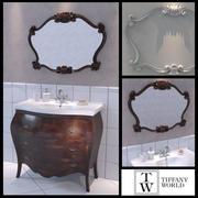 세면기 Tiffany World Barocco 3d model